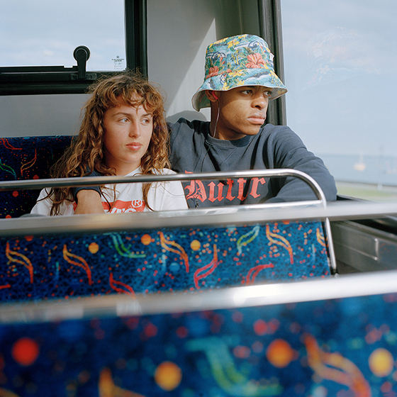 Bus Couple, 2014