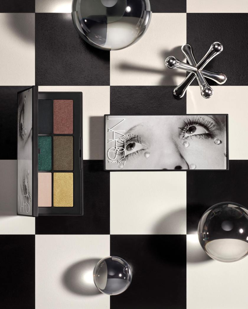 Man Ray for NARS Holiday Stylized Image - Glass Tears Eyeshadow Palette - jpeg