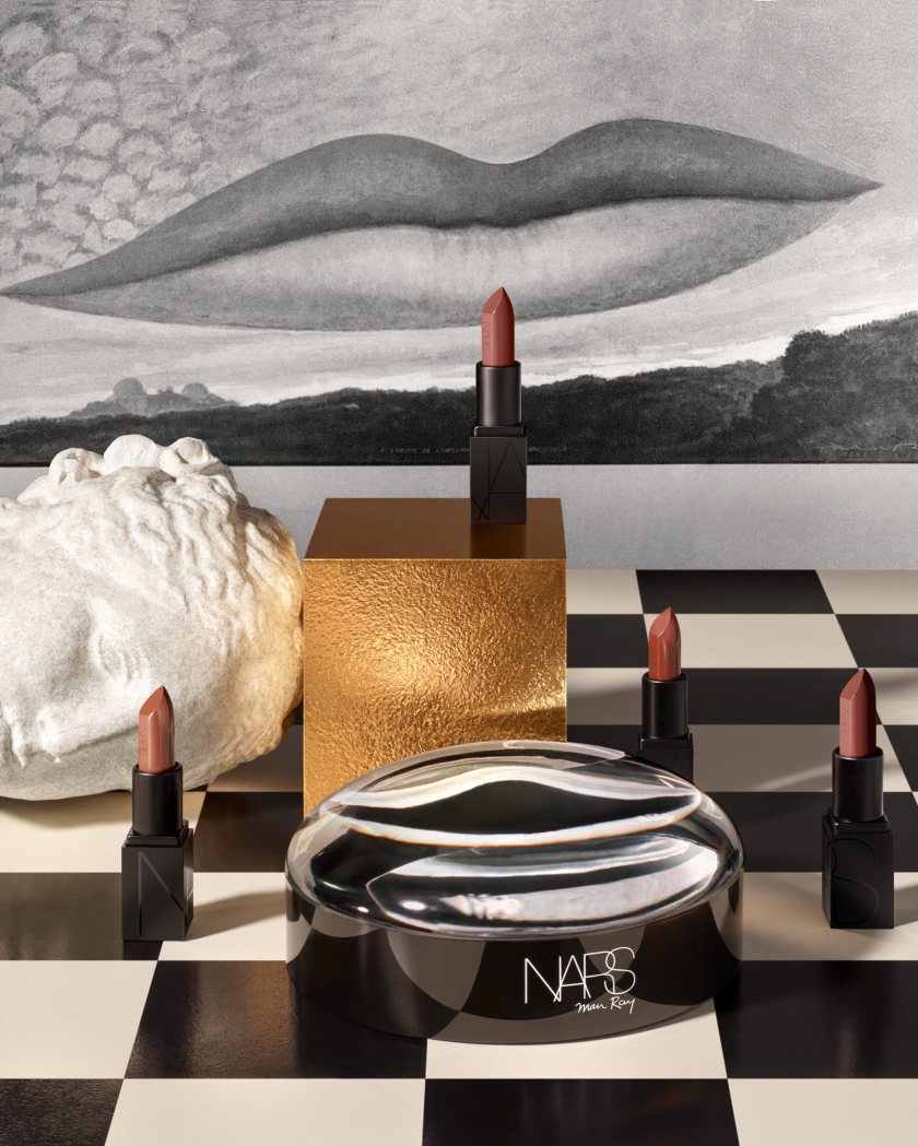 Man Ray for NARS Holiday Stylized Image - Les Amourex Mini Audacious Coffret - jpeg