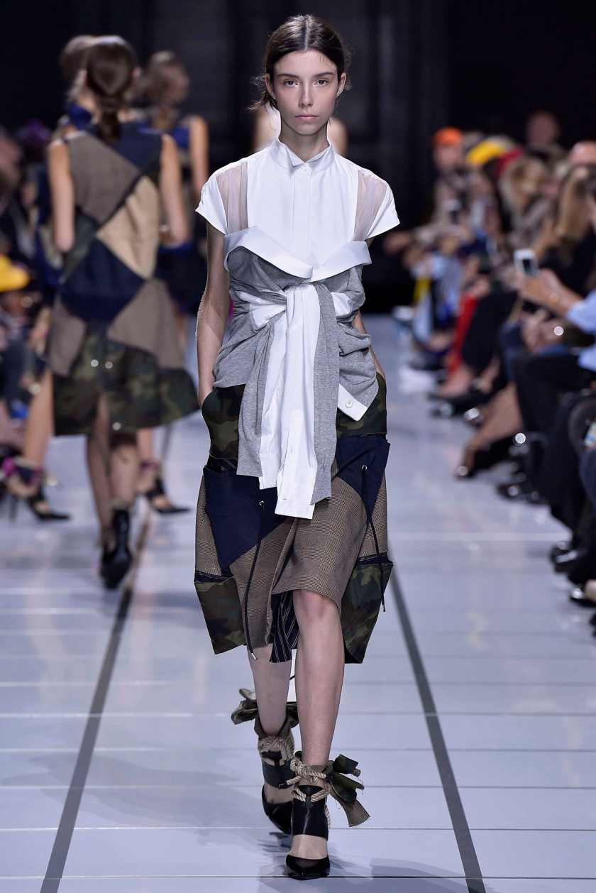Sacai Paris Fashion Week Spring Summer 2018 Paris Sept-Oct 2017