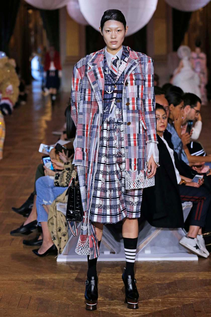 THOM BROWNE SS18 PARIS FASHION WEEK SEPTEMBER 2017