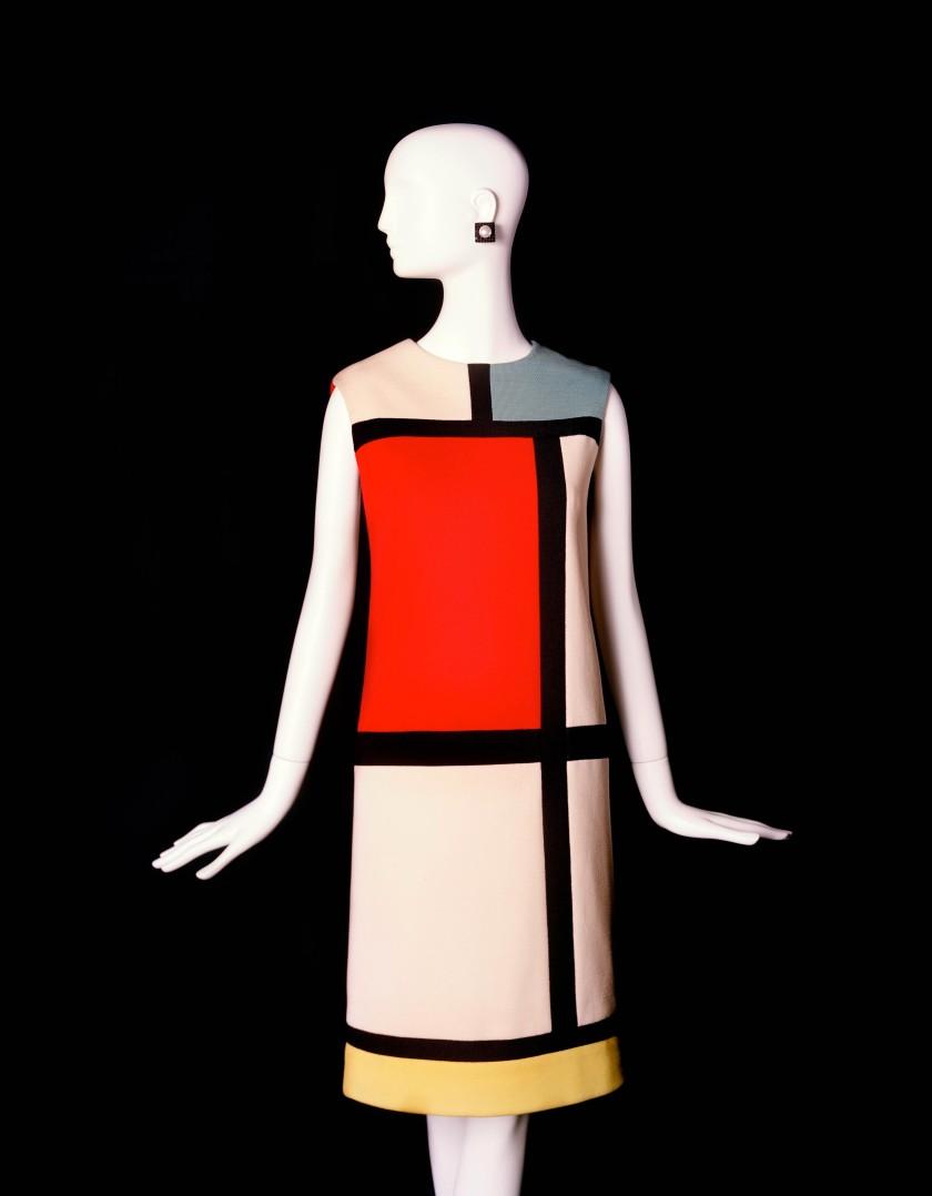 E - Robe hommage à Piet Mondrian © Alexandre Guirkinger