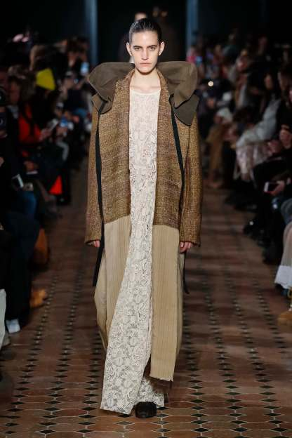Uma Wang Ready To Wear Fall Winter 2018 Collection Paris Fashion Week