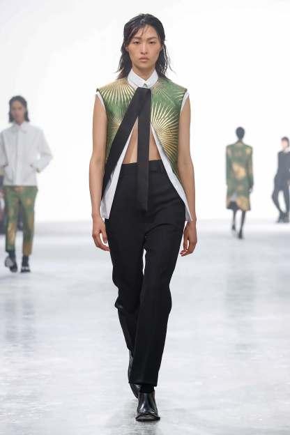 Haider Ackermann Fashion Show 29th September 2018 Paris Fashion Week