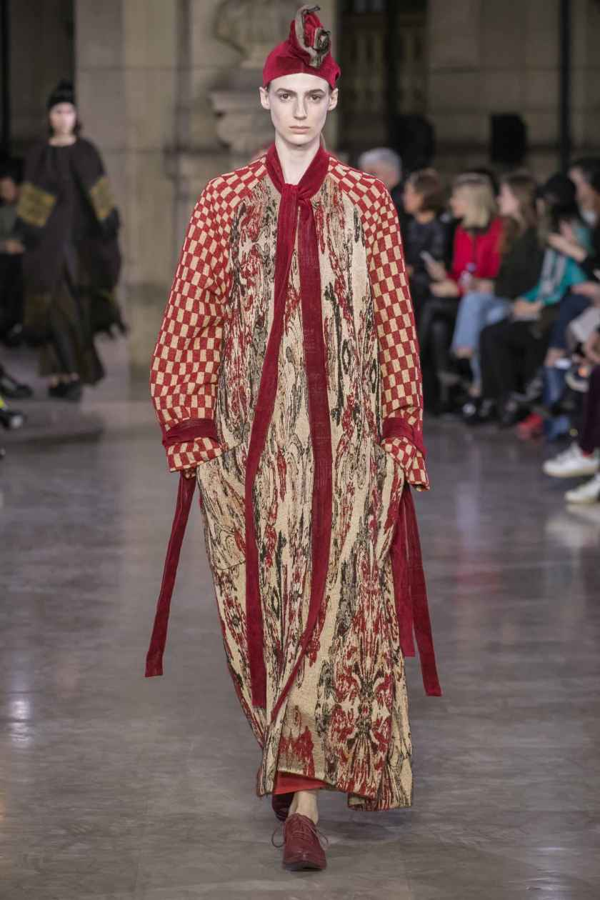 Uma Wang Ready To Wear Fall Winter 2019 Collection Paris Fashion Week