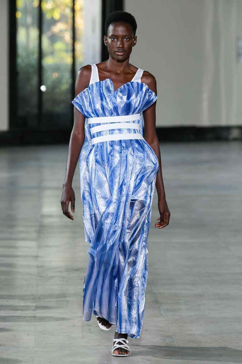Women Ready to wear, summer 2020, fashion week, Milan, Ita, from the house of Dawei
